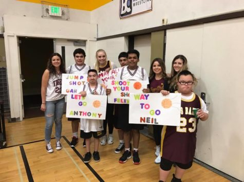 Special Needs Tigers Shine on the Courts!