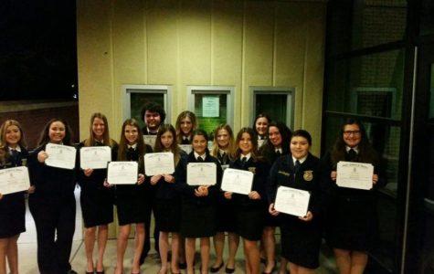 FFA Students Win State Degree