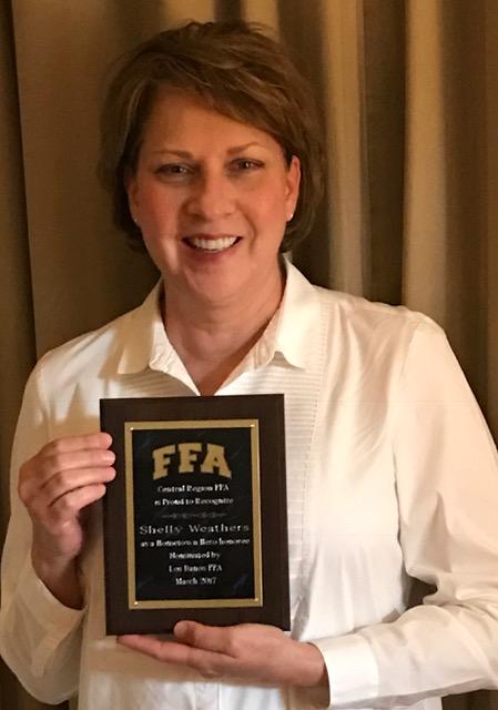 Mrs. Weather's Receives California Central Regional Hometown Hero Award