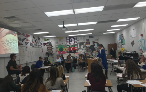 Students Practice Mock Trials in US History