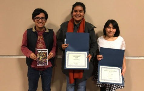 Creative Writers Awarded at Conference