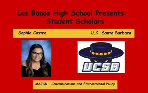 Admission Accomplished:  Sophia Castro