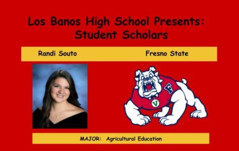 Admission Accomplished:  Randi Souto