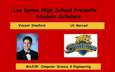 Admission Accomplished:  Vincent Stanford