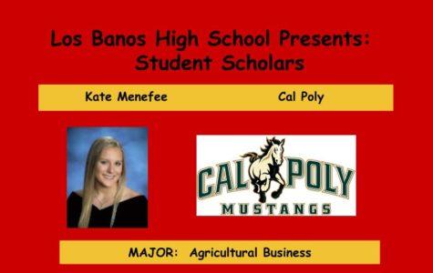 Admissions Accomplished:  Kate Menefee