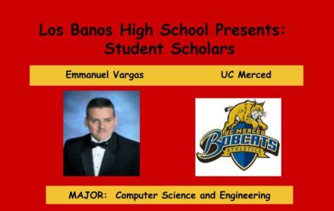 Admission Accomplished:  Emmanuel Vargas