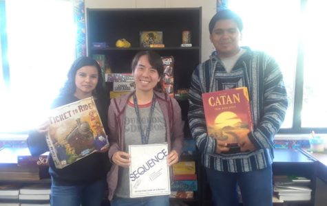 Board Game Club Entertains Students