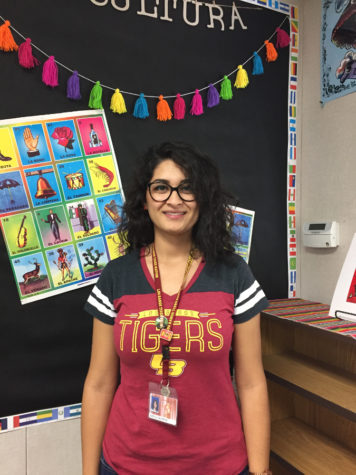Welcoming New Tiger Teacher,  Senora Calderon.
