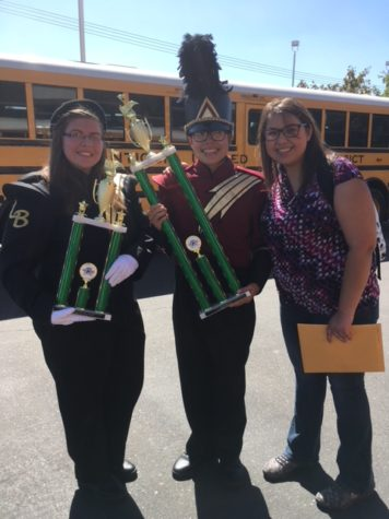 Los Banos High School Marching Band Places High in the First Competition of the Season!