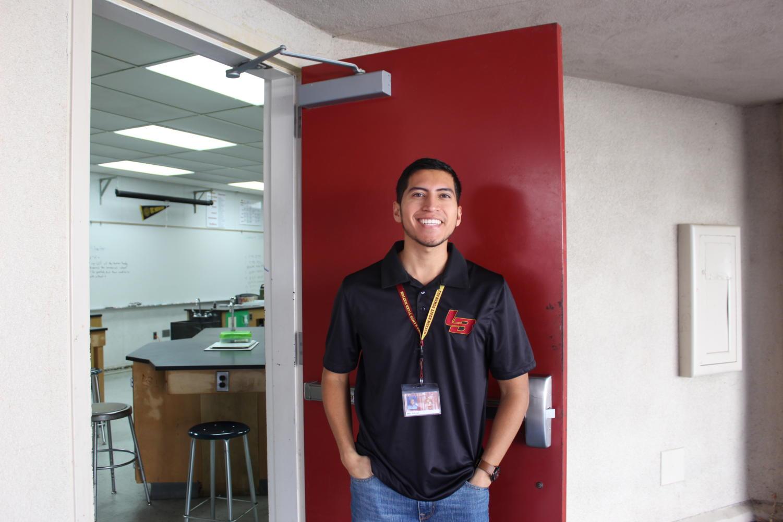 Mr. Salaz teaches freshman CP biology.
