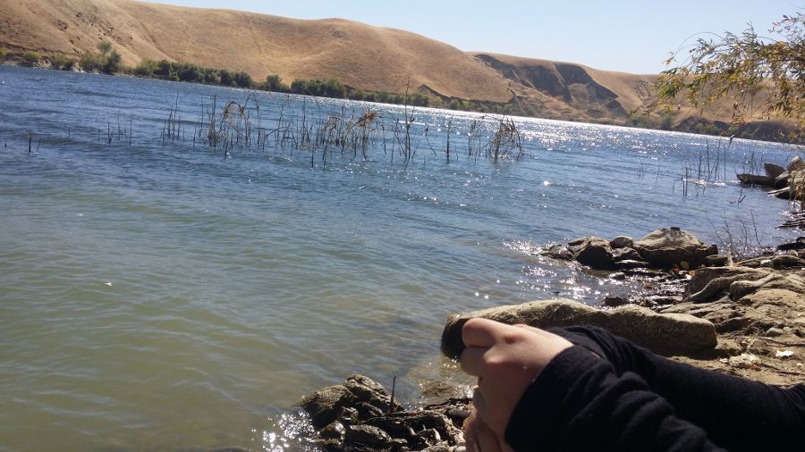Los Banos Creek Reservoir is a relaxing place to fish.
