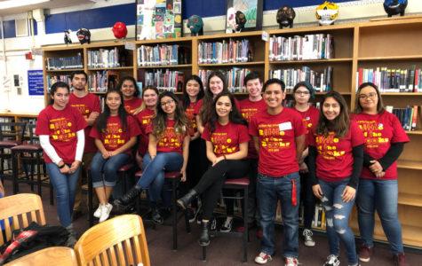 Los Bonos High School attends MUHSD Battle of the Books