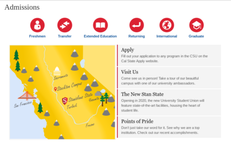 Stanislaus State Admissions Begin