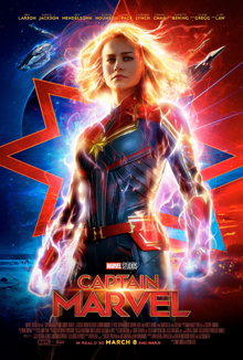 Captain Marvel highlights the role of a woman as a superhero.