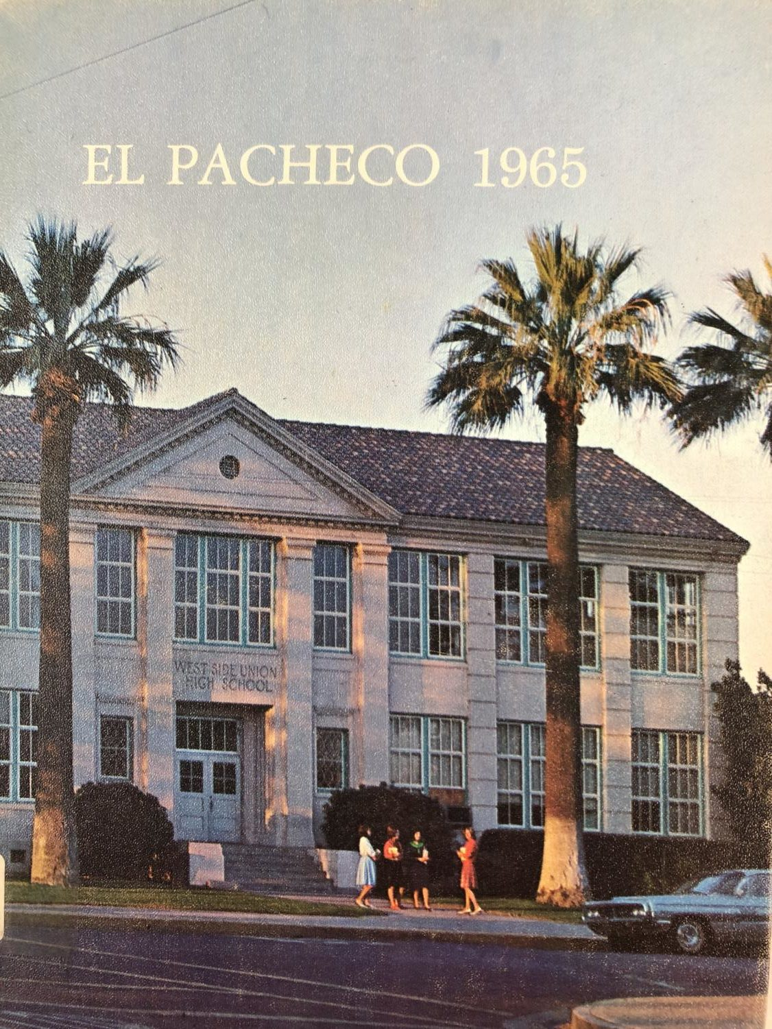 This picture shows the old high school of Los Banos.