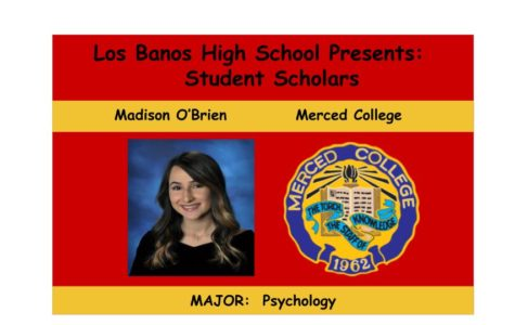 Admission Accomplished:  Madison O'Brien