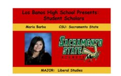 Admission Accomplished:  Maria Barba