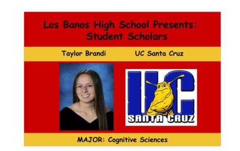 Admissions Accomplished:  Taylor Brandi