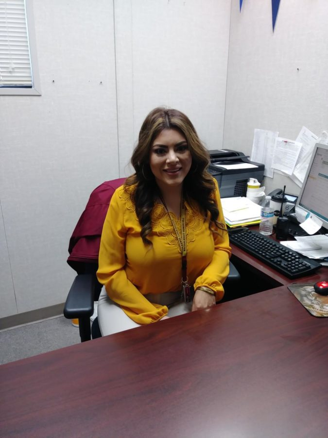 Welcoming Ms. Mercado To Campus