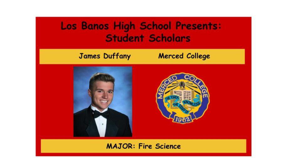 Admission Accomplished:  James Duffany