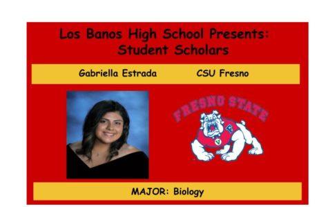 Admission Accomplished:  Gabriella Estrada
