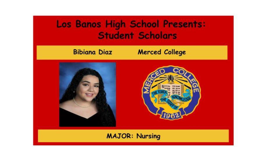 Admission Accomplished:  Bibiana Diaz