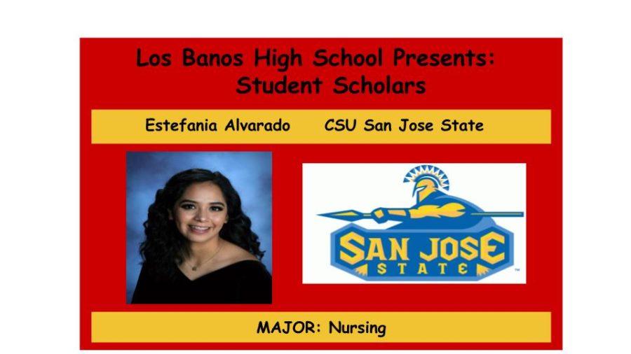 Admission Accomplished:  Estefania Alvarado