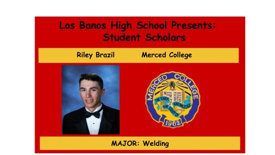 Admission Accomplished:  Riley Brazil