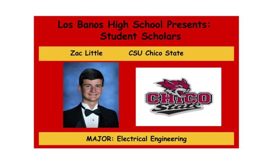 Admission Accomplished:  Zac Little