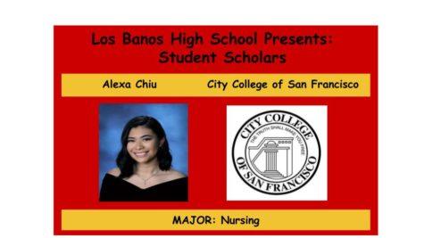 Admission Accomplished:  Alexa Chiu
