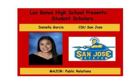 Admission Accomplished:  Daniella Garcia