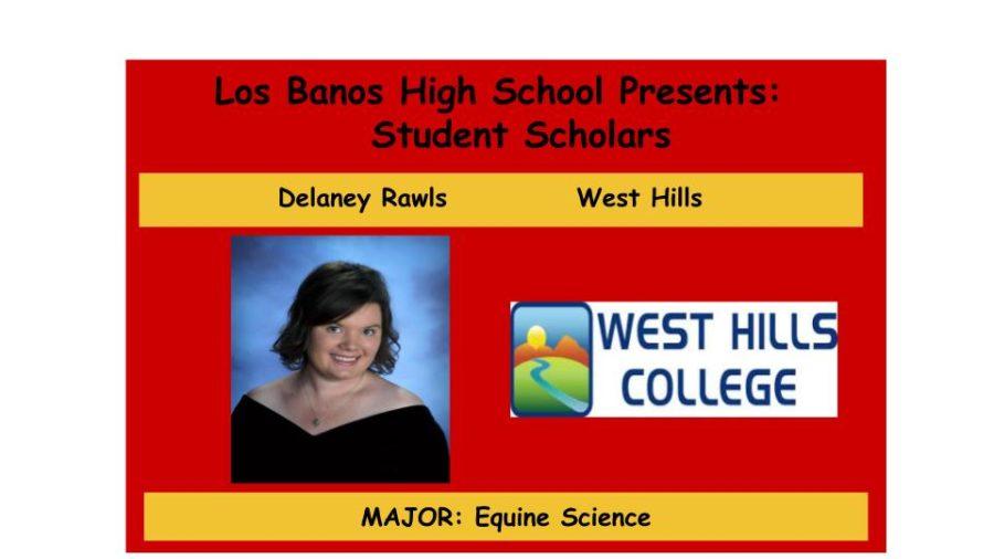 Admission Accomplished:  Delaney Rawls