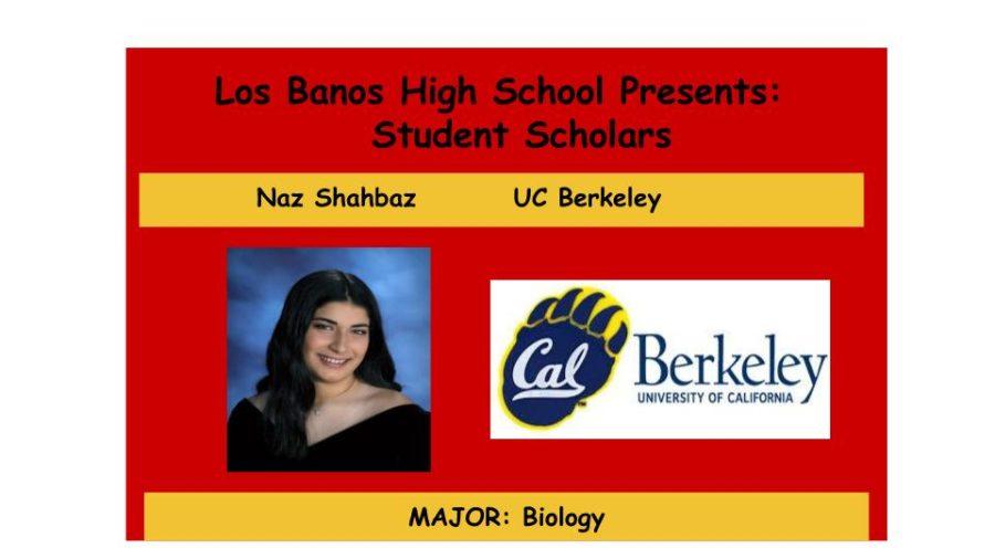 Admission Accomplished:  Nazia Shahbaz