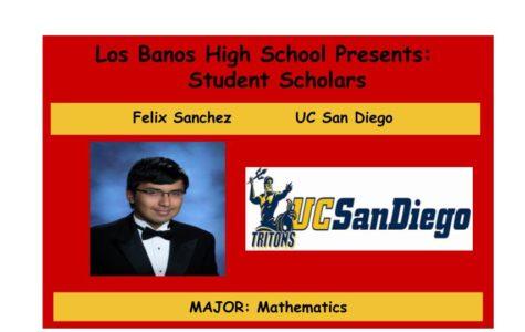 Admission Accomplished:  Felix Sanchez