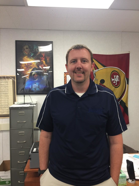 Mr. Stephen Kline joins the staff as a new teacher.