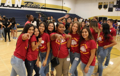 The LBHS ASB Class Shows Their Claws At Lathrop High School