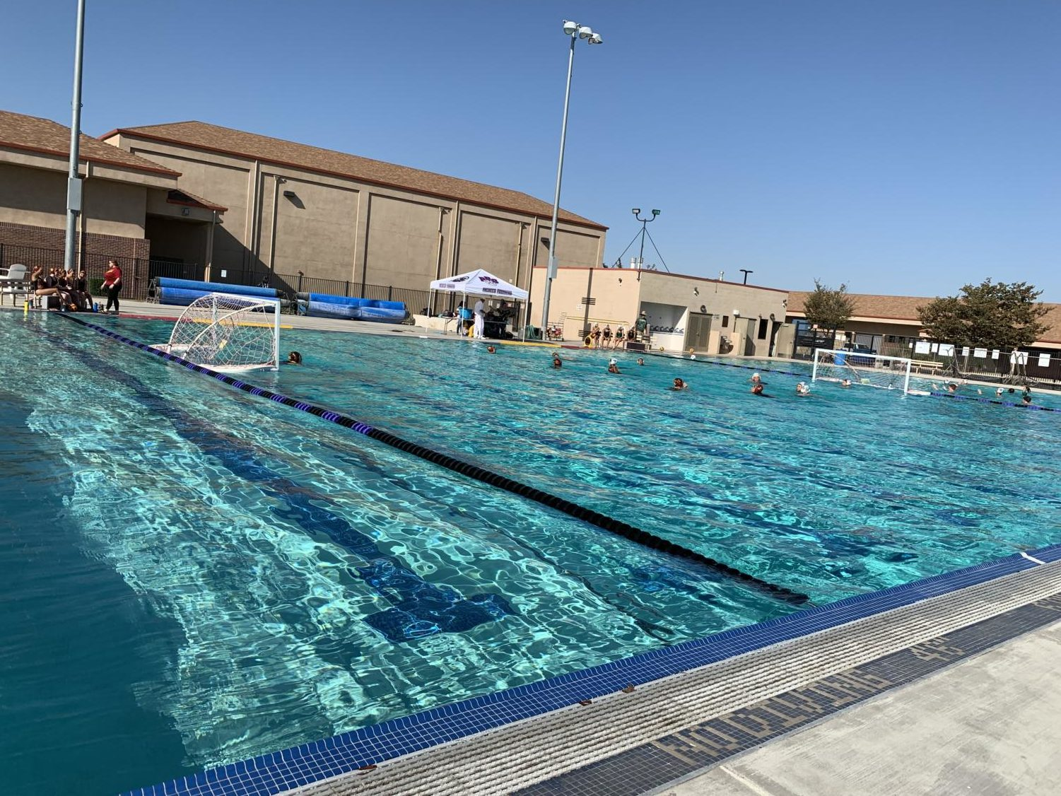 The water polo team is determined to be the best.