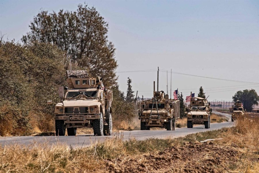 U.S Troops Withdraw from Syria