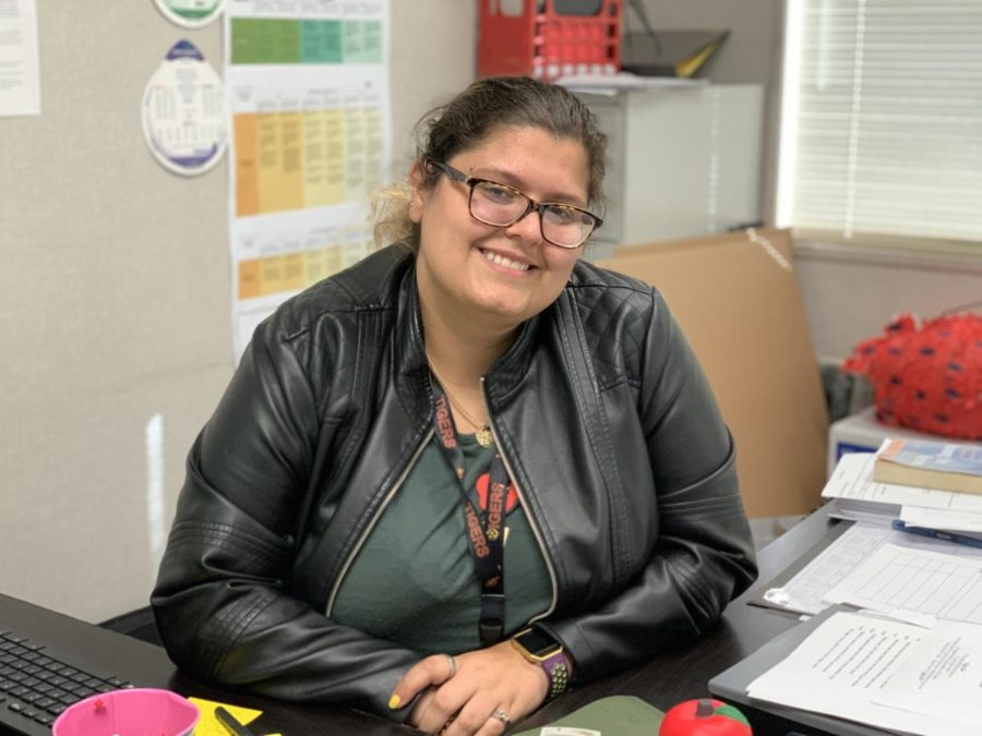 Bringing smiles and education to Los Banos High School, Mrs. Zorra is a new teacher this year.