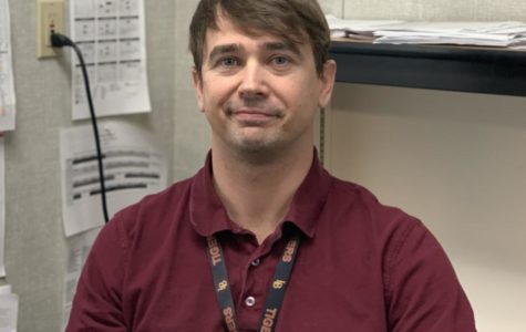 New Math Teacher, Mr. Smothers Joins the Staff