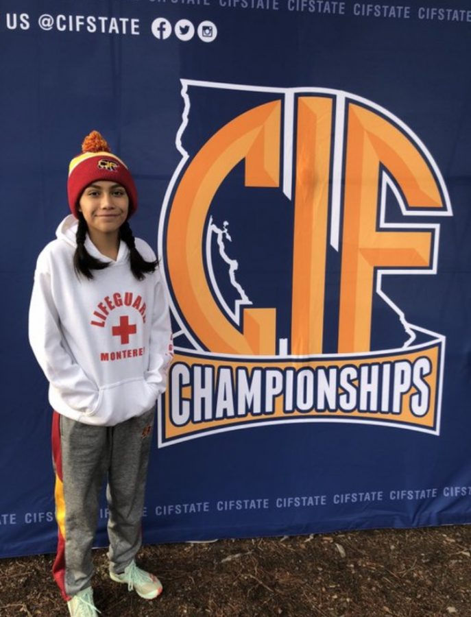 Arianna Sandoval Only Cross Country Runner to Make State