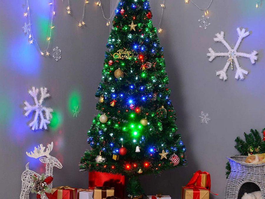 Christmas+spirit+decorated+tree