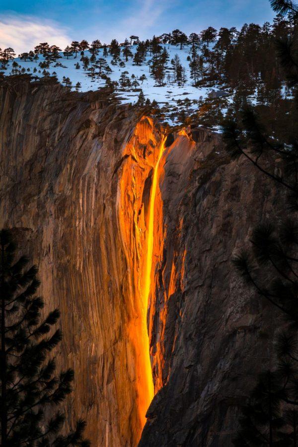 Yosemite Fire Fall; The Natural Phenomenon That Attracts All