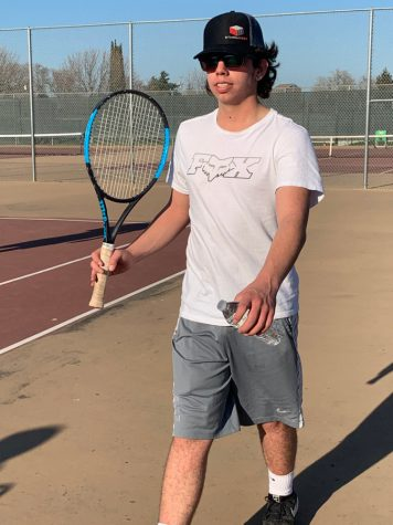 Tennis interview with Joseph Fagundes