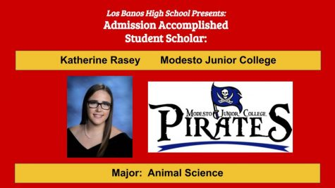 Admission Accomplished:  2020 Graduate Katherine Rasey