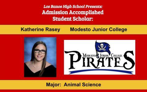 Admission Accomplished:  2020 Graduate Katherine Rasey