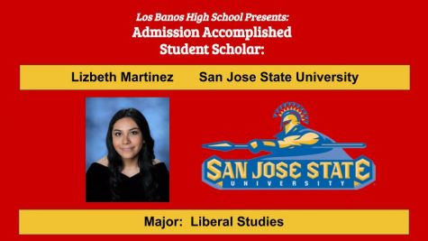 Admission Accomplished:  2020 Graduate Lizbeth Martinez