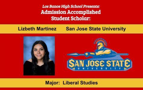 Admission Accomplished:  2020 Graduate Lizbeth Martinez