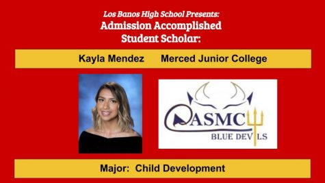 Admission Accomplished:  2020 Graduate Kayla Mendez