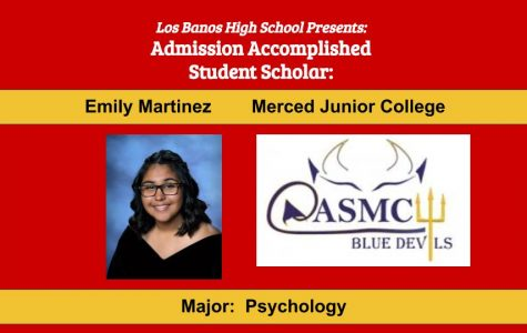 Admission Accomplished:  2020 Graduate Emily Martinez